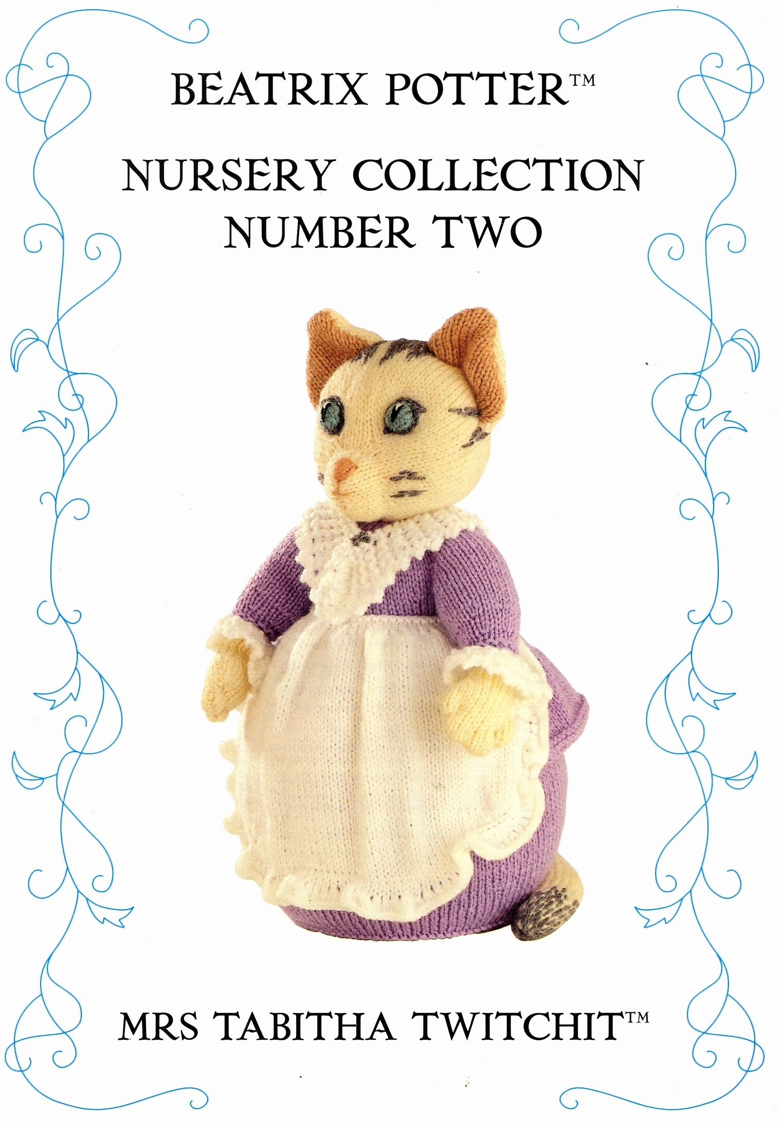Knitting Pattern for Beatrix Potter - Mrs Tabitha Twitchit toy to knit in DK ...